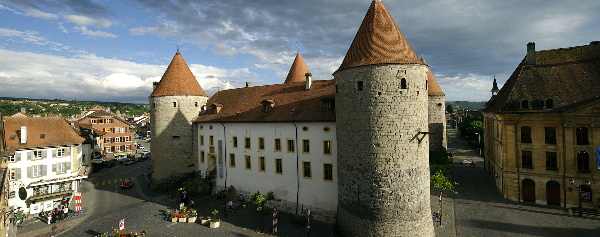 Castle of Yverdon