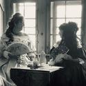 Zwei illustre Damen auf Schloss Werdenberg