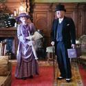 [Translate to it:] Paar in historischer Kleidung