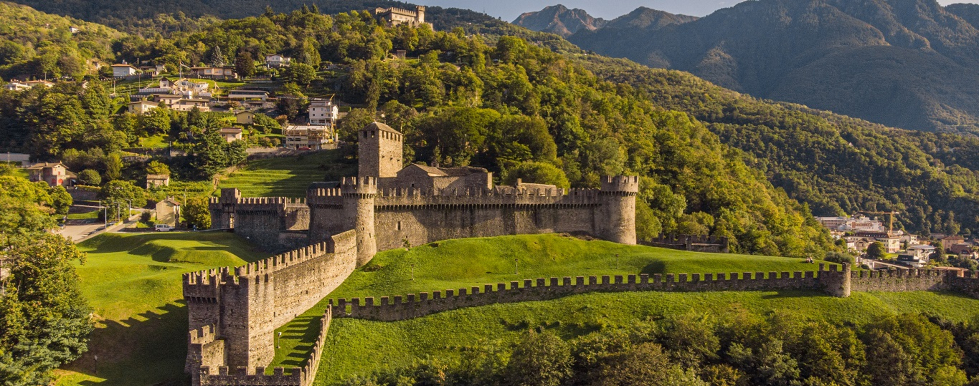 Die Festung von Bellinzona